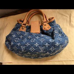 Louis Vuitton Bags - 🌀🦋Cute Mini denim Louis Vuitton purse